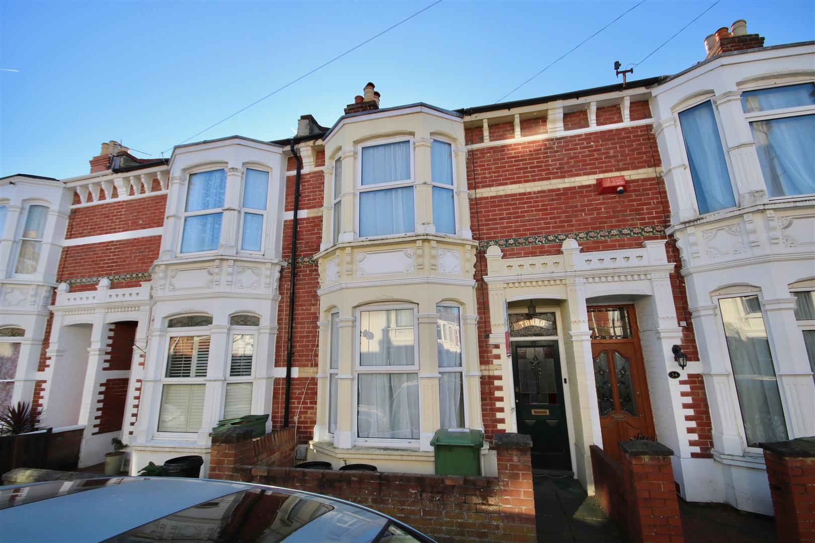 4 Bedrooms Terraced House for sale in Liss Road, SOUTHSEA, Portsmouth, Hampshire.